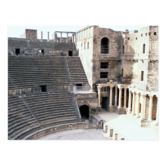 Famous Roman Theatre, Bosra, Syria Postcard