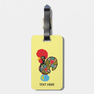 Famous Rooster of Barcelos Nr 06 Luggage Tag