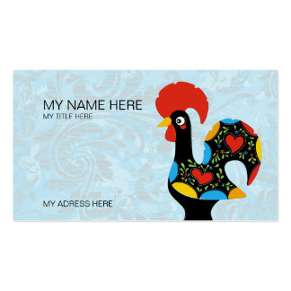 Famous Rooster of Barcelos Nr 09 Pack Of Standard Business Cards
