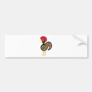 Famous Rooster of Barcelos Portugal Nr. 07 Bumper Sticker