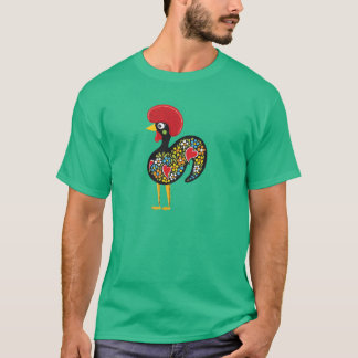 Famous Rooster of Barcelos Portugal Nr. 07 T-Shirt