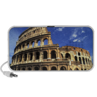 Famous ruins of the Coliseum in Rome Italy Mini Speakers