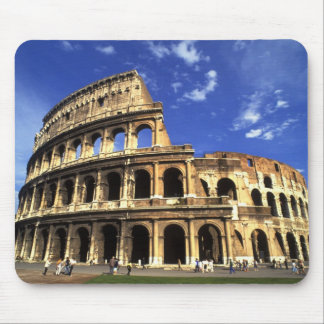Famous ruins of the Coliseum in Rome Italy Mouse Pad