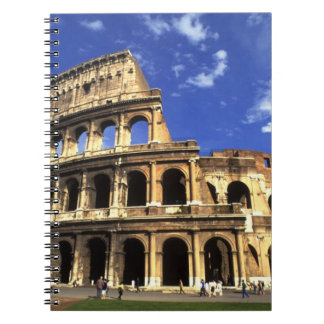Famous ruins of the Coliseum in Rome Italy Note Book