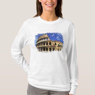 Famous ruins of the Coliseum in Rome Italy T-Shirt