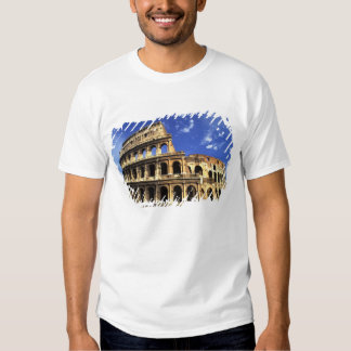 Famous ruins of the Coliseum in Rome Italy T Shirt
