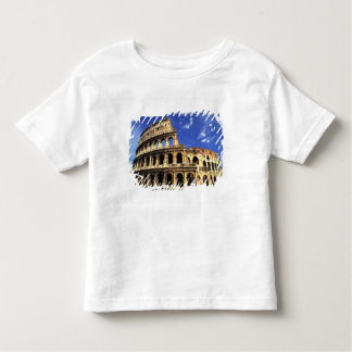 Famous ruins of the Coliseum in Rome Italy Toddler T-Shirt