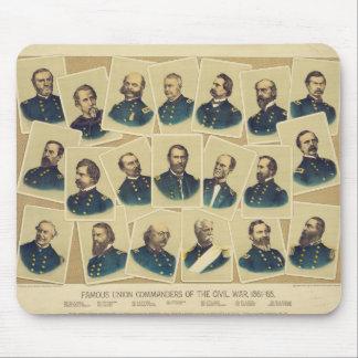 Famous Union Commanders of the Civil War Mouse Mat