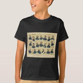 Famous Union Commanders of the Civil War Shirt
