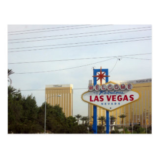 Famous Vegas Sign Postcards