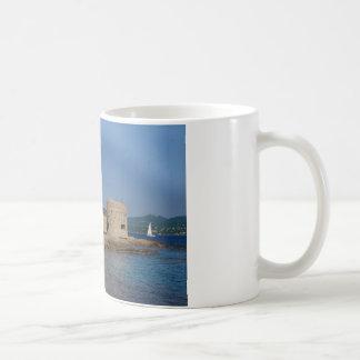 Famous village Saint Tropez in France Basic White Mug