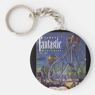 Famousfantastic11_Pulp Art Basic Round Button Key Ring