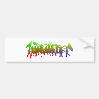Fan Bumper Sticker