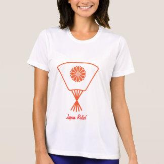 Fan Chyrsanthemum Japan Relief Shirt
