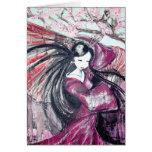 FAN DANCE GREETING CARDS