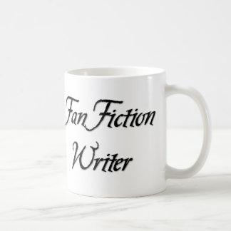 Fan Fiction Writer Basic White Mug
