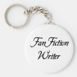 Fan Fiction Writer Key Ring