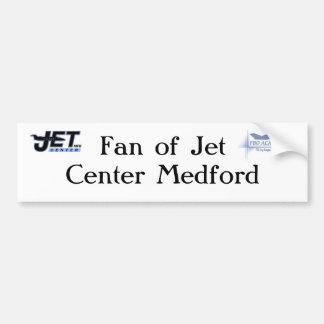 Fan of Jet Center Center Medford Bumper Sticker