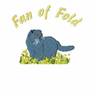 Fan off fold embroidery spring