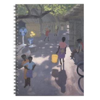 Fan Seller Malindi Kenya 1995 Notebooks