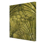 Fan vaulting in the cloister canvas print