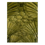 Fan vaulting in the cloister postcard