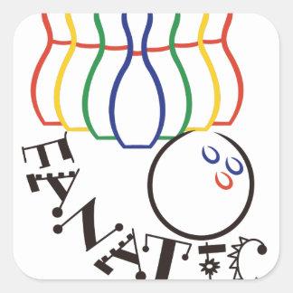Fanatic Square Sticker