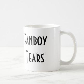 Fanboy Tears Classic White Coffee Mug