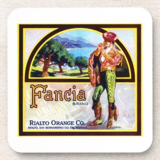 Fancia Oranges Coasters