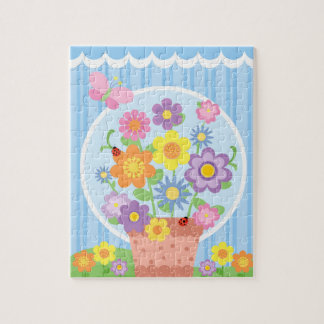 Fanciful Flowers Puzzle