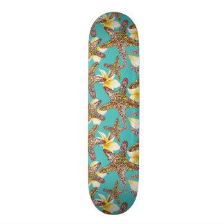 Fanciful Starfish Pattern Skateboard Decks