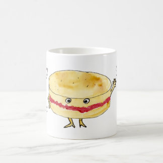 Fancy a Cake Funny Victoria Sponge Cake Slogan Art Coffee Mug