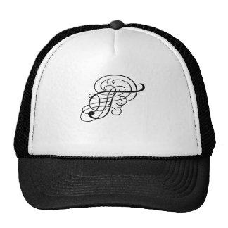 """""""Fancy Alpha Caps"""" T Hat"""