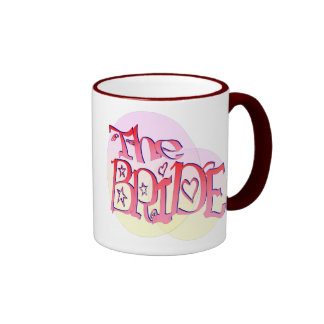 Fancy Bride in the spotlight (3) Ringer Mug