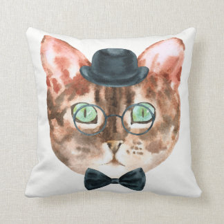 Fancy Cat Pillow 3