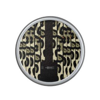 Fancy Cheetah Camo Bluetooth Speaker