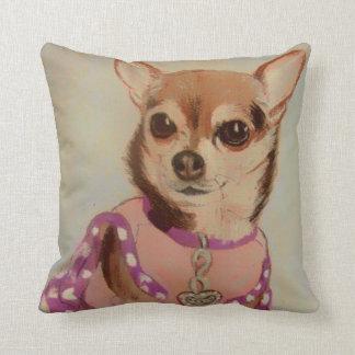 Fancy Chihuahua Cushion