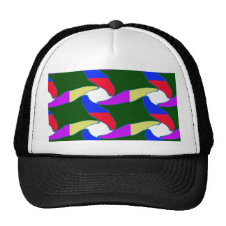 Fancy Colorful Paper Craft Ropes Print on shirts Hats