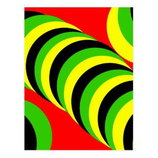 fancy colours postcard
