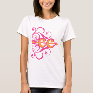 Fancy Cross Country Running Symbol T-Shirt