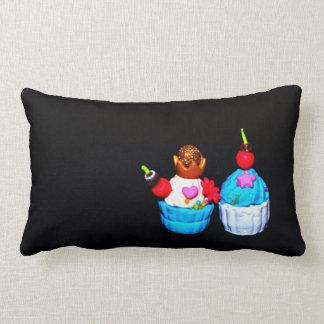 Fancy Cupcakes Lumbar Cushion