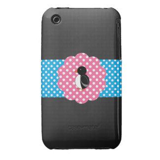 Fancy cute penguin iPhone 3 covers