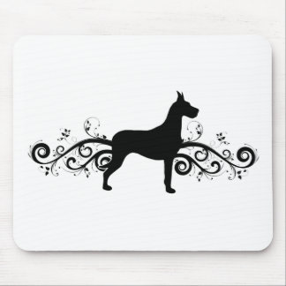 Fancy Dane Mouse Pad