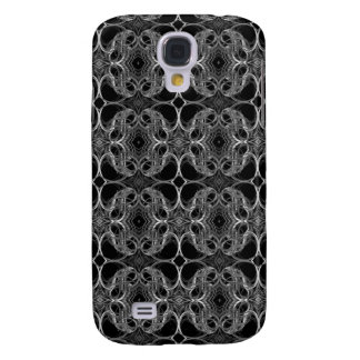 Fancy Decorative Pern in Black and White. Galaxy S4 Case
