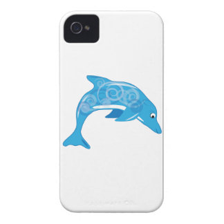 Fancy Dolphin iPhone 4 Case-Mate Case