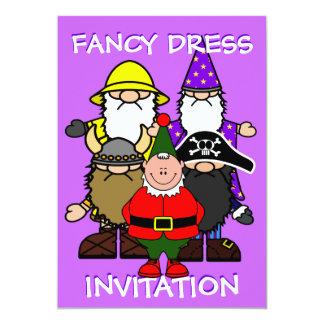 Fancy Dress Party 13 Cm X 18 Cm Invitation Card