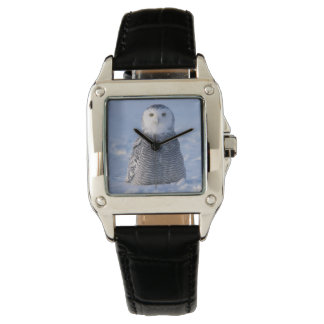 Fancy Elegant Arctic Snowy Owl Photo Designed Watch