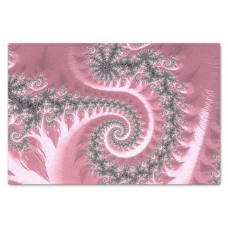 Fancy Elegant Fractals With Cool Mandala Patterns Tissue Paper