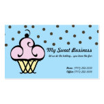 Fancy Fine Cupcake Pack Of Standard Business Cards