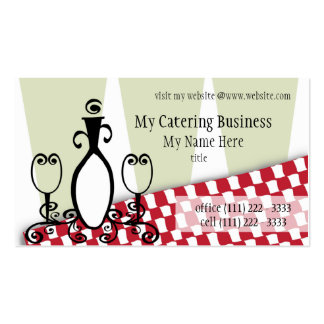 Fancy Fine Restaurant Double-Sided Standard Business Cards (Pack Of 100)